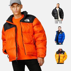 正品The North Face 北面 TNF 1996 NUPTSE 羽绒服 美版 暴力橙
