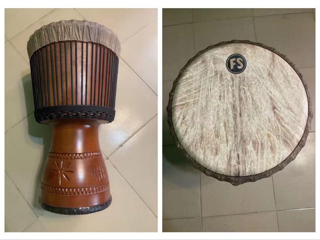 FS flyer 13 inch master drum African drum professional high end stage performance handdrum mandin folk accompaniment Djembe
