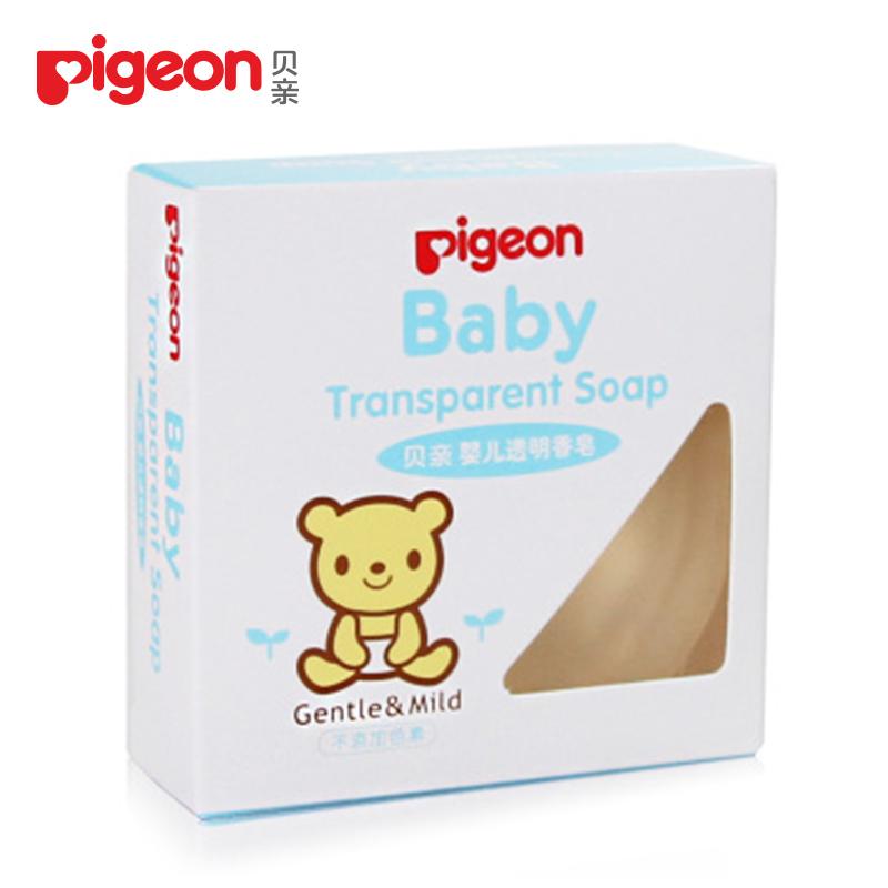 ~貝親~嬰兒保濕滋潤透明香皂70克 IA122 官方旗艦店