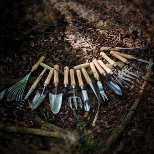 花小白不锈钢种植工具家用花园园艺小工具套装大铲耙锄头除草神器价格
