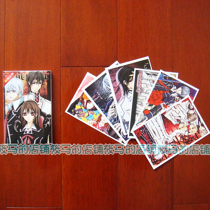 Post cards of vampire knight nine orchids and thorns