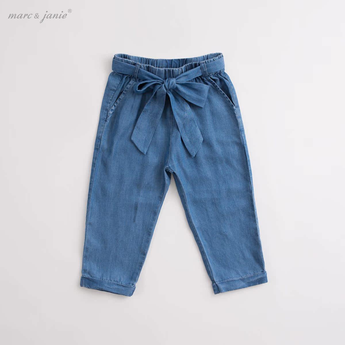 馬克珍妮寶寶天絲女童牛仔褲