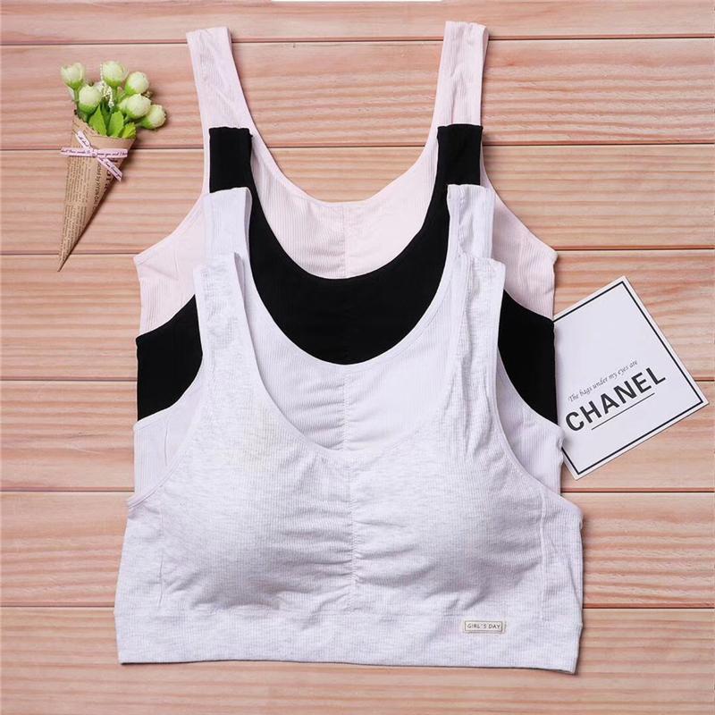 发育期少女大码运动内衣胖MM180斤加肥加大胸衣背心初高中生文胸