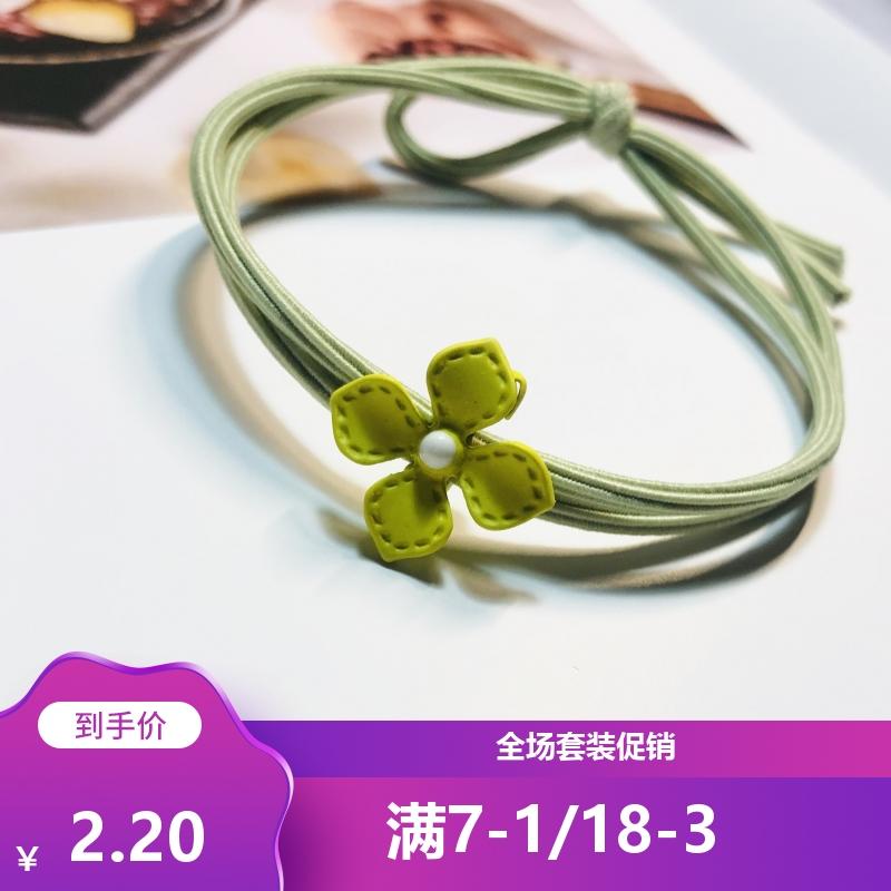 [ME] Han Guodong tiktok, the door of the four door clover, Lolita, the hair rope.