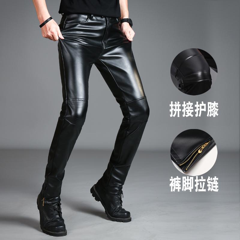 Кожаные брюки Артикул 575471007789