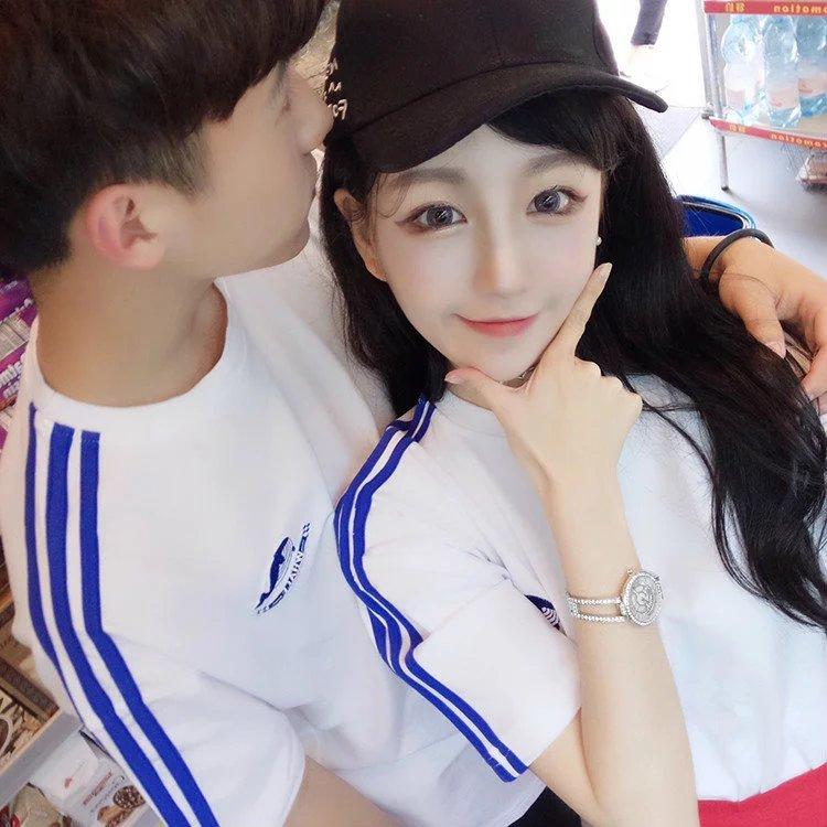 包邮9.9元九块九男装修身学生情侣韩版T恤短袖9块特价10元内热销