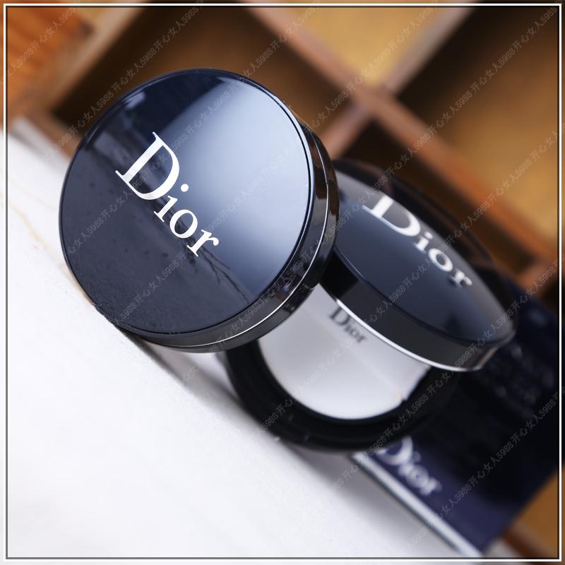 Dior迪奧Forever 皮革啞光氣墊bb霜氣墊凝脂粉底 持久保濕遮瑕 盒