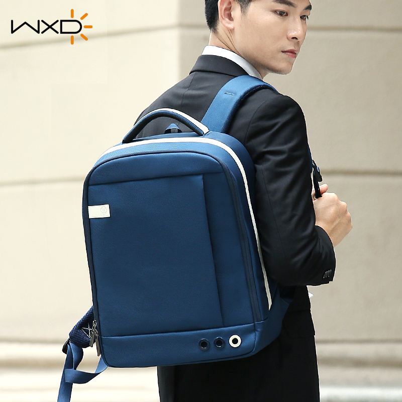 Wanxinda business backpack mens and womens Backpack Travel Bag college student schoolbag trend leisure backpack