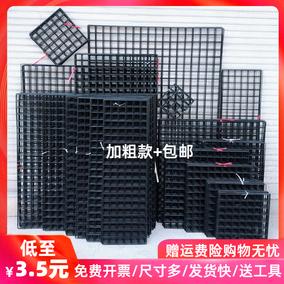 加粗黑色铁丝网照片墙网格货架网片