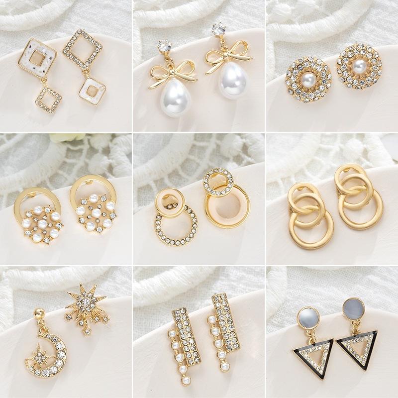 同款流苏个性礼物女款潮夏黑色大气日本宝石珍珠仿古首饰珠宝项链