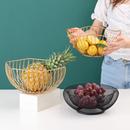 北欧轻奢创意网红果盘客厅茶几ins零食糖果盆家用桌面收纳水果篮