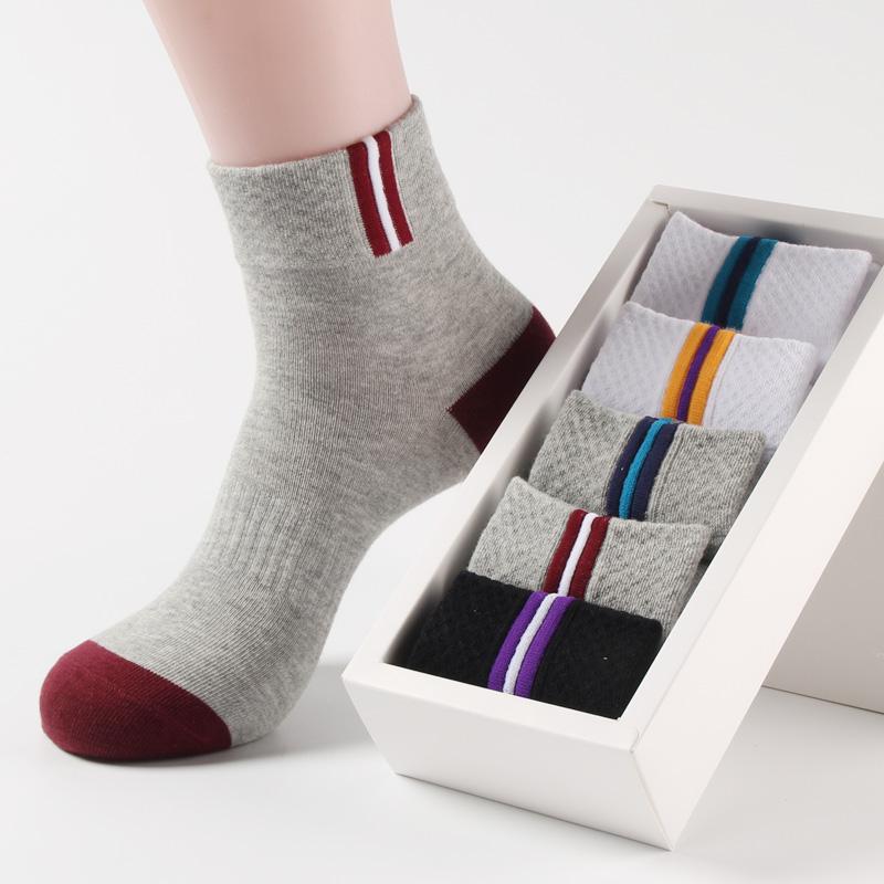 买5送5 纯棉袜子男秋冬厚款中筒袜 吸汗防臭中腰袜四季透气运动袜