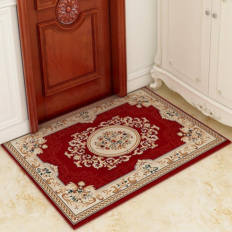 地垫门垫进门简约现代家用吸水防滑入户门厅地毯大门口地垫可定做