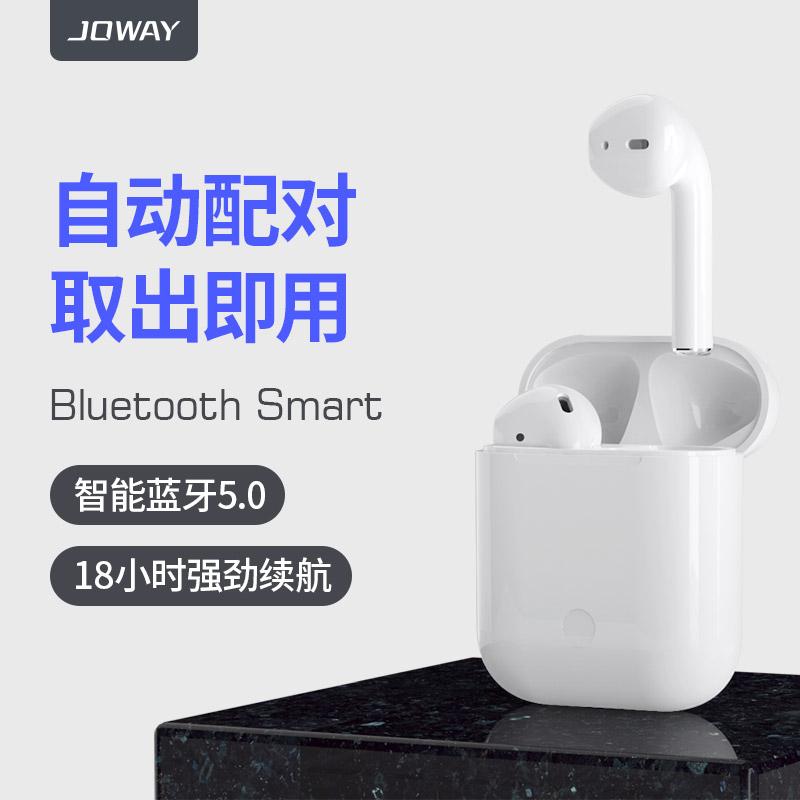 12月06日最新优惠乔威H103/AirPor真无线5.0苹果耳机蓝牙iPhone跑步双耳入耳式单耳