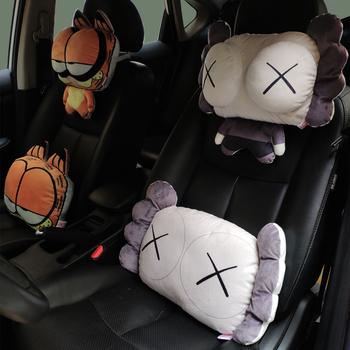 卡通汽车护颈枕创意个性车用靠枕