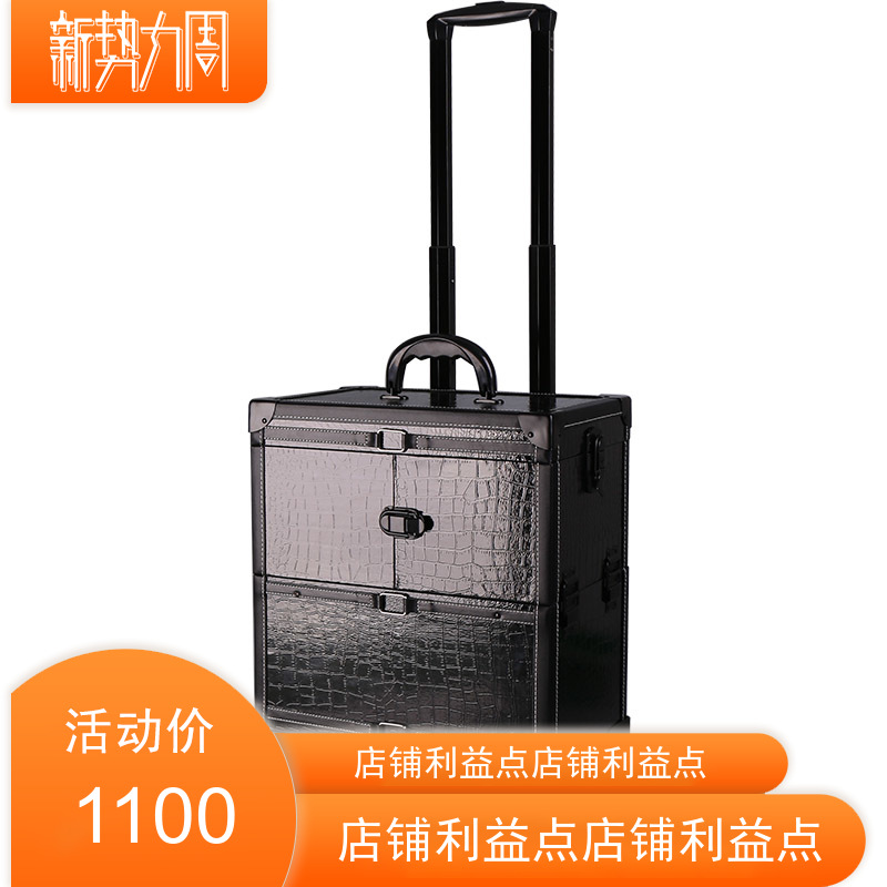 Star beam film and television makeup training advanced cosmetics set Trolley Case Set