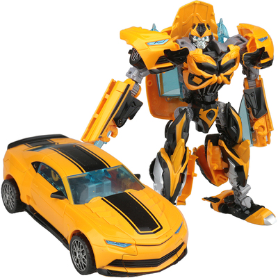 Deformation toy car Bumblebee King Kong car robot children's manual assembly boy puzzle model gift