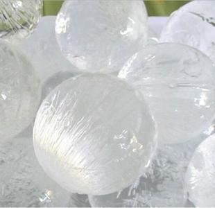 日本进口冰球制冰盒带盖冰格冻冰块神器制冰模具冰粒冰块速动器