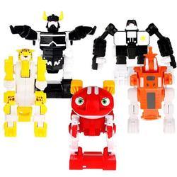正版快乐酷宝3玩具赤焰蛙宝小宝魔战猩狼王1键变形全套儿童机器人