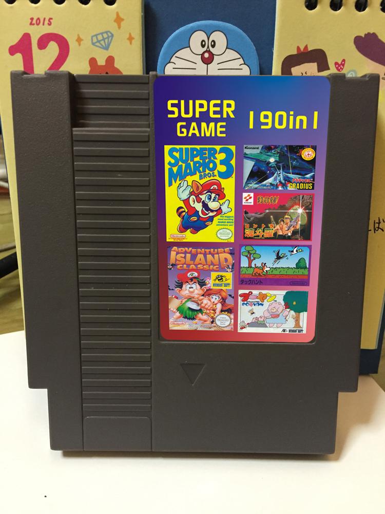 8位72pin NES游�蚩�190合一(真���目74��)