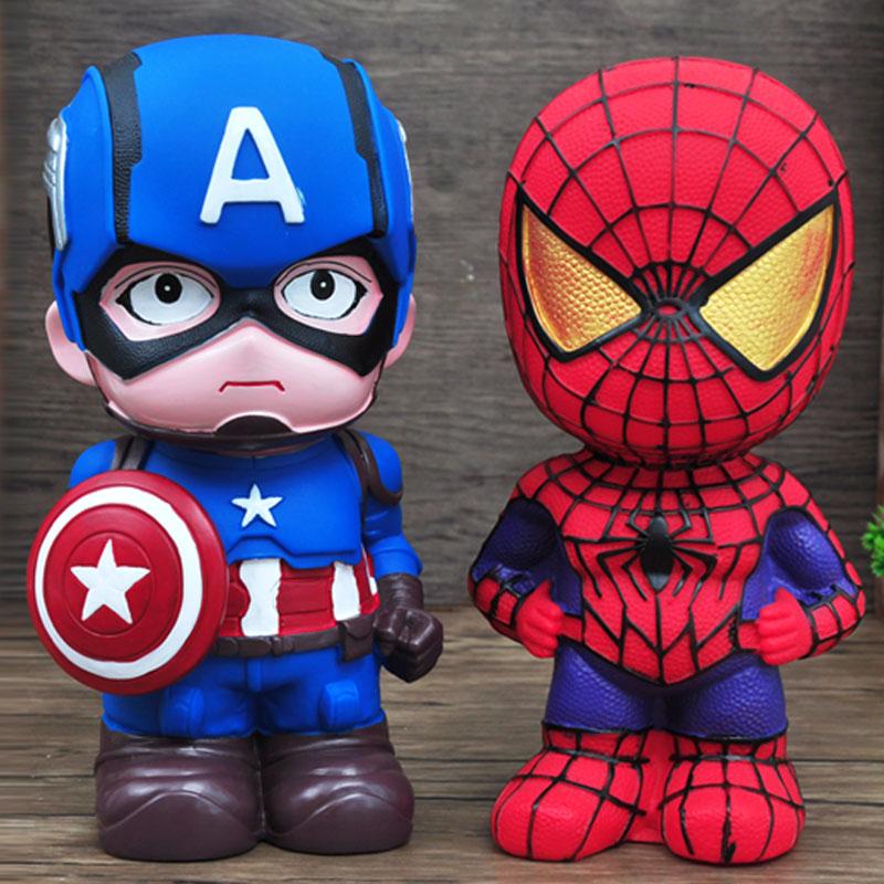 防摔儿童存钱罐有趣的可爱卡通储钱罐大号储蓄罐创意小孩圣诞礼物