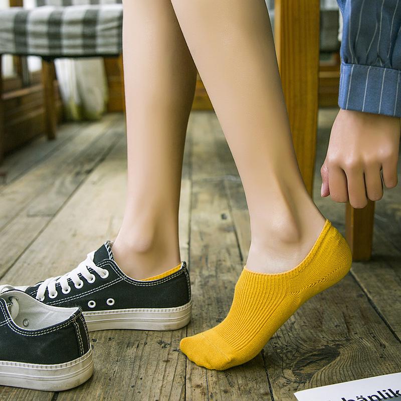 浅口学院风纯棉低帮学生夏季女短袜10-18新券