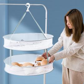 晾衣网晒衣篮晾晒网衣服平铺的网兜家用晾袜子神器毛衣专用晾衣架