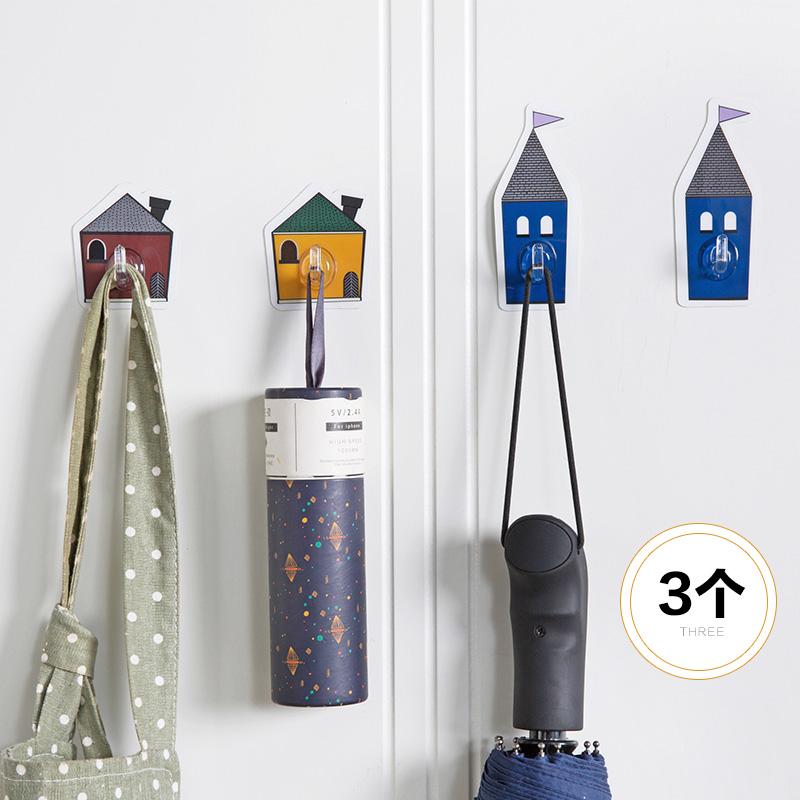Домой домой небольшой мультфильм дом вискоза подключить ванная комната стена перфорация крюк кухня мощный ворота после палка настенный