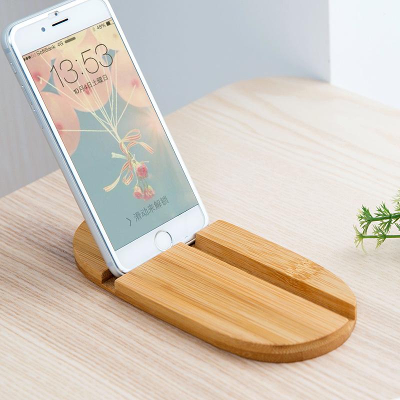 Домой домой бамбук подставка для мобильного телефона ipad планшетный компьютер полка бездельник артефакт рабочий стол телефоны стойки мобильный телефон сиденье