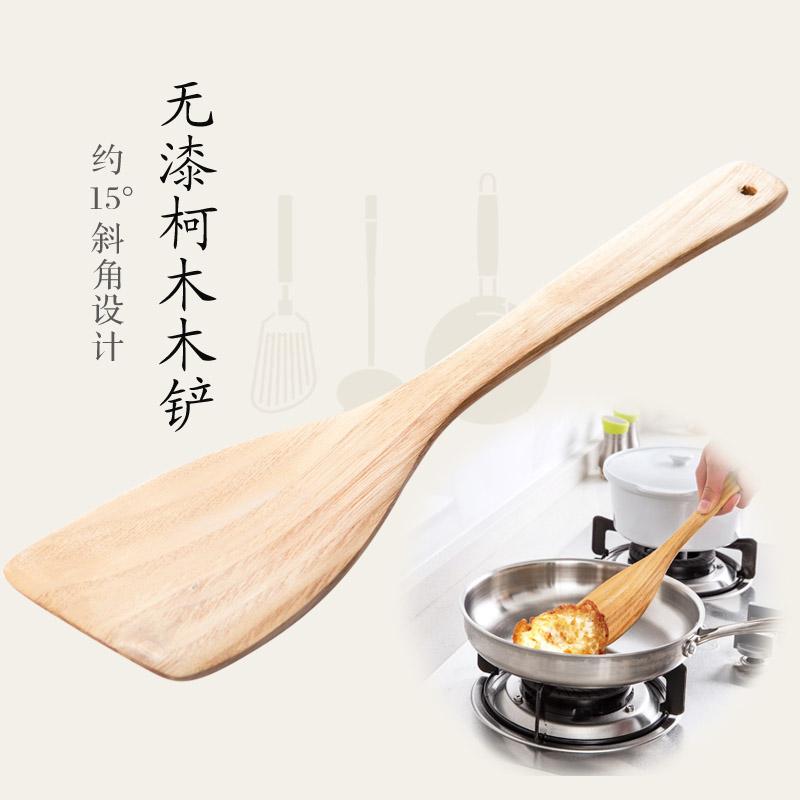Домой домой японский деревянный дерево косой лопата дерево дерево шпатель палка горшок специальный сковорода жарить блюдо деревянная лопатка сын шпатель