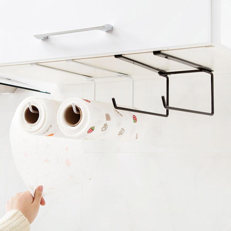 Шкаф бумажные полотенца полка перфорация здравоохранения бумага полка кухня бумага хранение стойка избежать гвоздь рулон полка