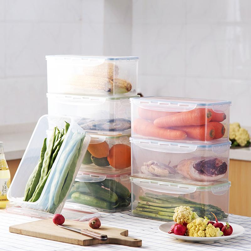 Домой домой пластик еда в коробку холодильник еда холодный замораживать сохранение коробка кухня овощной фрукты дренажный коробку