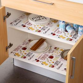 居家家可裁剪印花防油橱柜垫抽屉纸鞋柜衣柜防水垫抽屉垫纸防潮垫图片