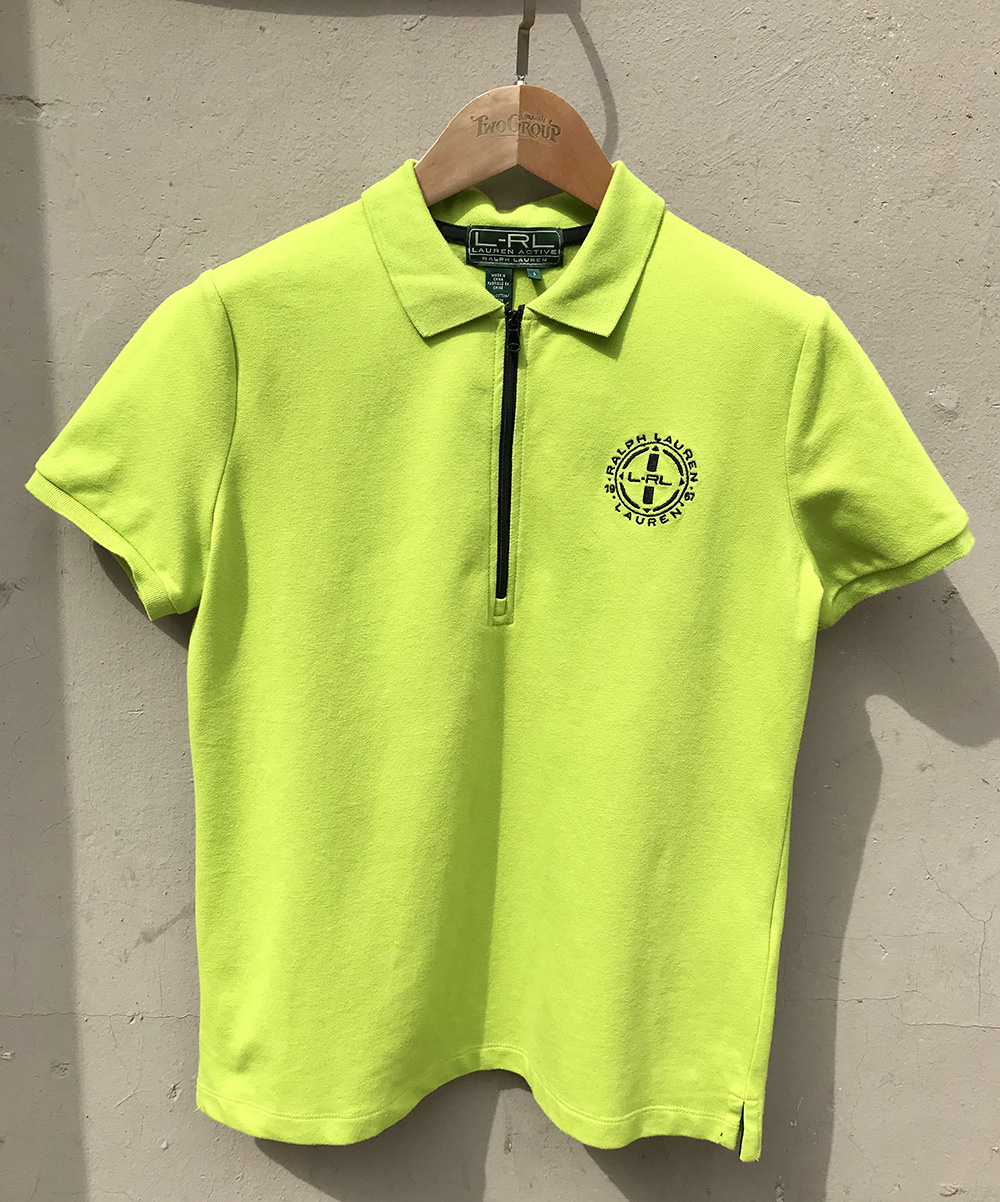 Ralph laren LRL avocado polo shirt polo shirt Golf Shirt ~ womens sports
