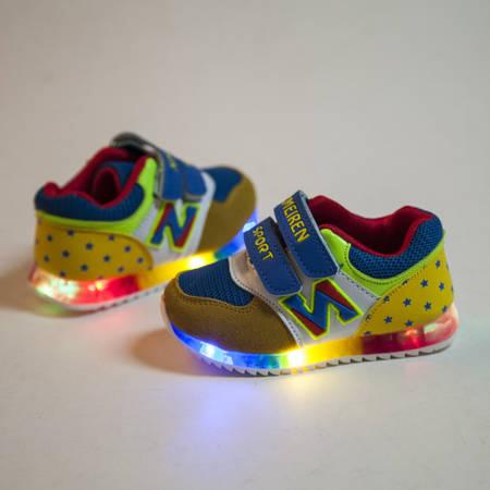 Ребенка Весна 2016 огни башмак обуви мальчиков девочек обувь повседневная тапки Детская обувь NET