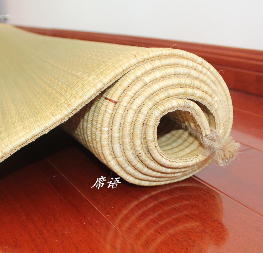 不包邮0.9米定做纯天然0.9米草席白麻筋 0.8米凉席 蔺草席榻榻米 海绵草