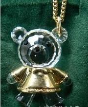 现货正品Swarovski施家可小熊妹妹女链191629绝版珍藏礼物