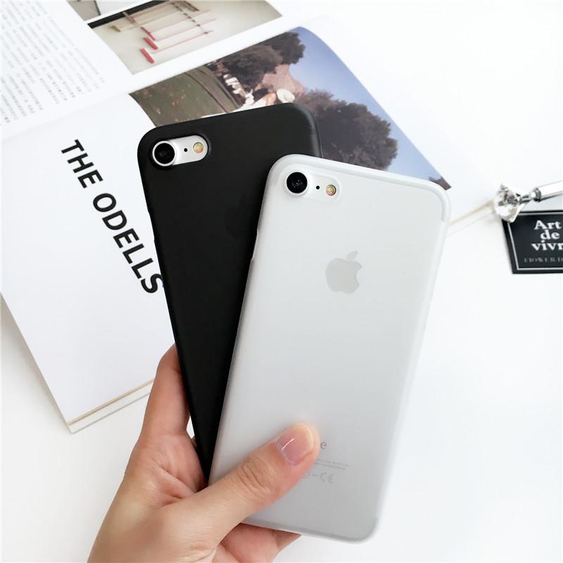 简约磨砂苹果女款p手机壳