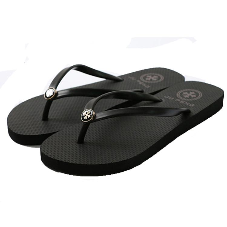 韩版潮夹脚沙滩鞋女夏外穿女橡胶