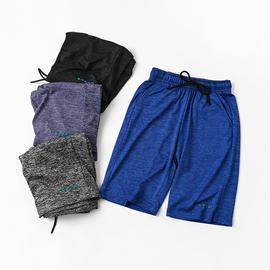 体育课穿 儿童速干运动短裤 男童女童薄款弹力宽松五分裤 中大童图片