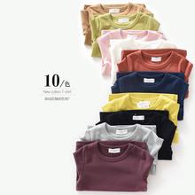 Ребенок свитер в больших детей длинный рукав T футболки мальчиков девочки конфеты ребятишки новый T