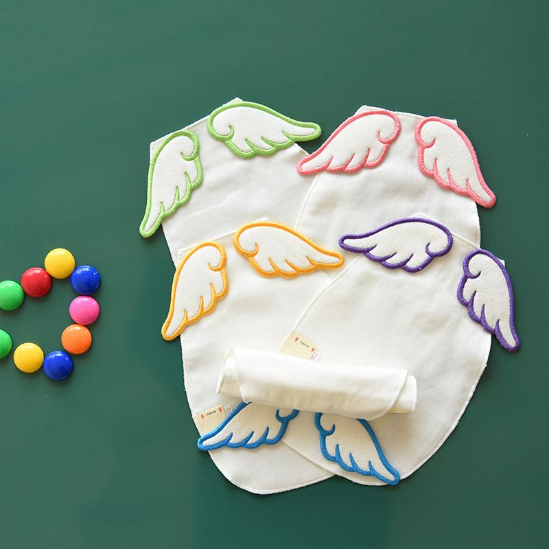 Ребенок хлопок подушка строп младенец младенец пот полотенце хлопок 5 слой марли модель пот полотенце нет флуоресценция подготовка T