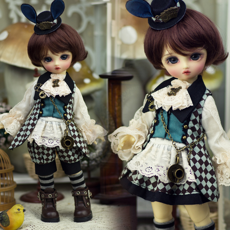 Amors new dress BJD baby dress Alices SD baby suit black rabbit 2nd edition on sale