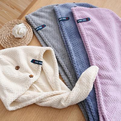 yodoxiui干发帽女吸水速干擦头发毛巾包头巾浴帽可爱长发干发巾
