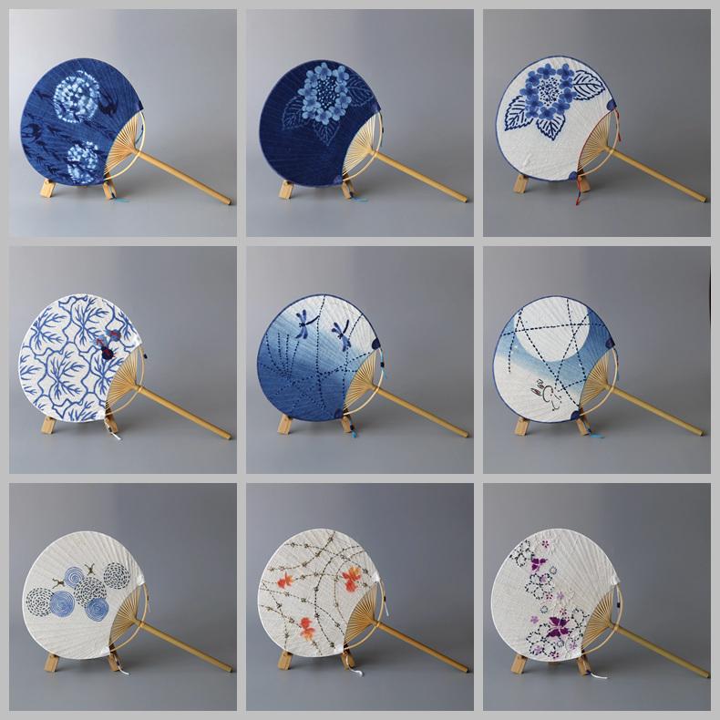 Ткань чайный куст зал лето ткань группа вентилятор ручной работы шип сын вышивать ручной работы краситель зефир ткань группа вентилятор выход япония за одного