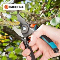 德国进口GARDENA嘉丁拿家用嫩枝绿植花卉舒适型园艺修枝剪刀 8904
