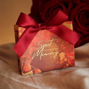 喜糖盒子礼盒装高档结婚礼物袋回礼品袋手提袋伴手礼盒伴娘少女心