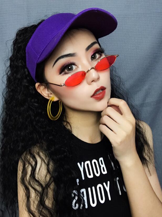 假发老虎夹长卷马尾女hiphop嘻哈小卷玉米烫绑带逼真中长款假发片