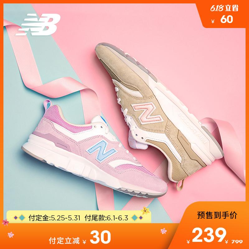 【预售】New Balance NB官方女款997H系列休闲鞋CW997HPL图片