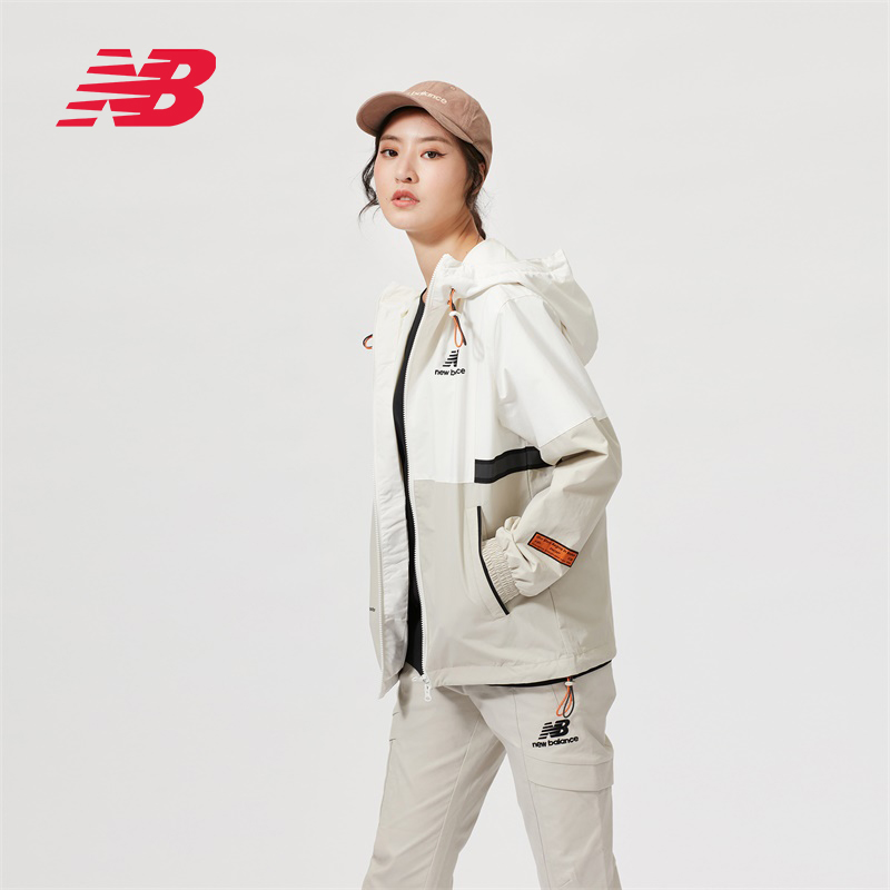 New Balance NB official 2020 new men's women's NAA34023 color block jacket casual windbreaker